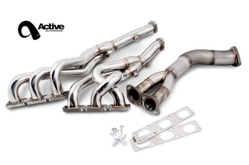 Active Autowerke Exhaust Header Set w/ Y-Pipe BMW E36 325 328 M3 1992+