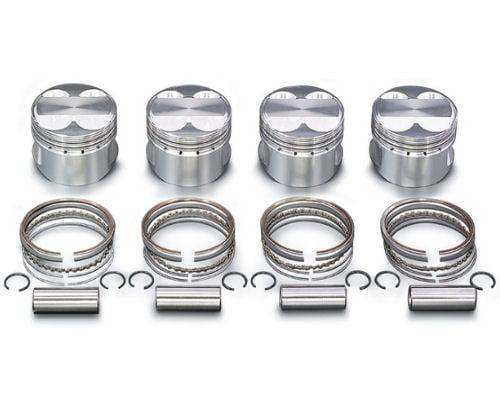 Toda High Compression Forged Piston Kit (NA6CE – 81mm | 1722cc) Mazda Miata (B6 | BP)