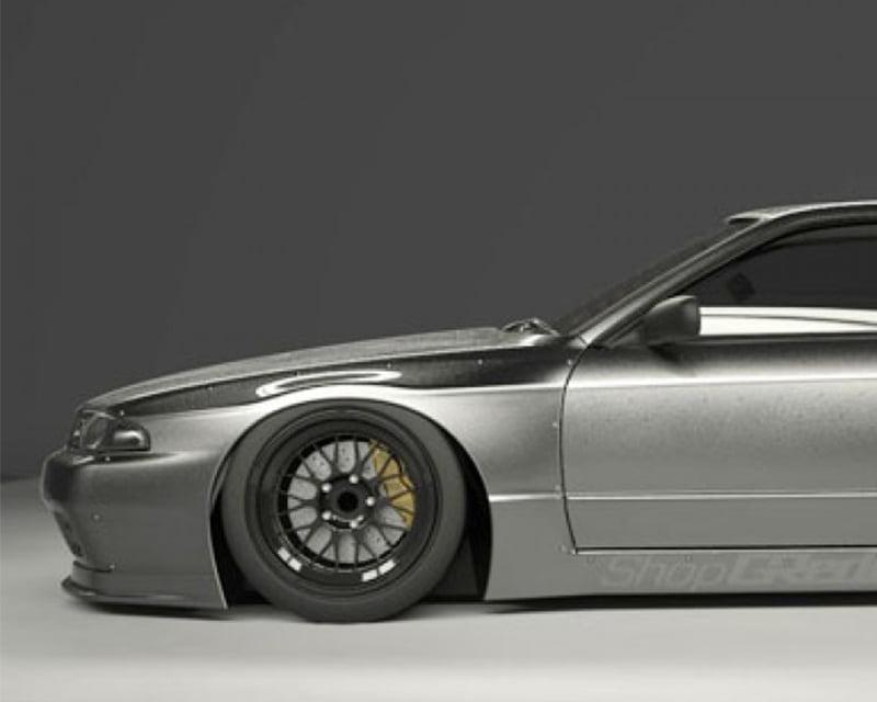 Pandem Front Over Fenders (FRP) Nissan Skyline GTR R32 89-94