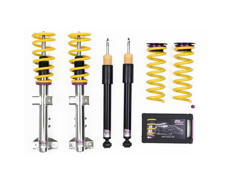 KW Street Comfort Coilover Kit Audi TT 8J | A5 Coupe Quattro All Engines without Magnetic Ride 06-12
