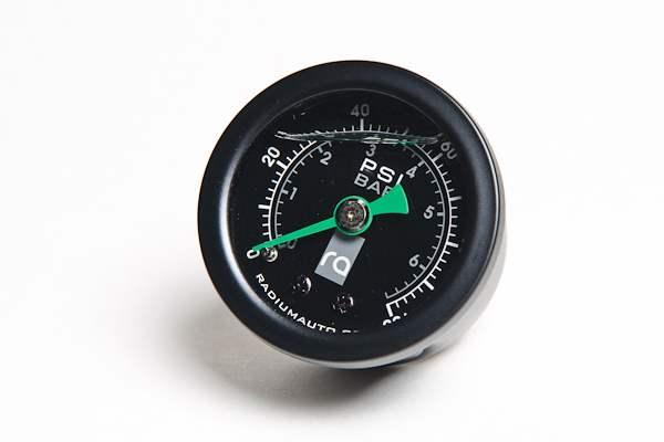 Radium Engineering Fuel Pressure Gauge, 0-100 Psi
