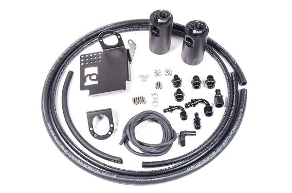 Radium Engineering Dual Catch Can Kit, S2000, All Rhd and 06-09 Lhd