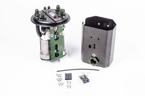 Radium Engineering Fuel Hanger Plumbing Kit, 15+ Subaru Sti, Dual Pump