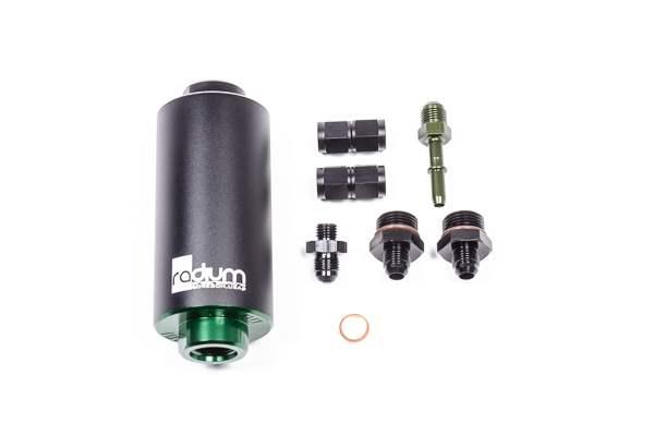 Radium Engineering Fuel Filter Kit, Oem FPR, Microglass, BMW E46 M3