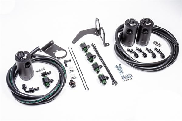 Radium Engineering Nissan R35 Gt-R Triple Catch Can Kit