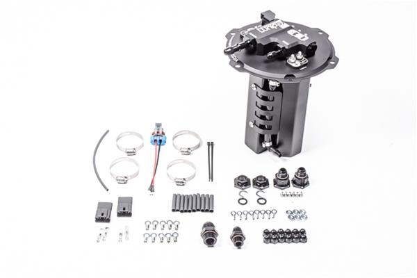 Radium Engineering 08-16 Mitsubishi Evo X Fuel Hanger Dual Pump Incl Walbro F90000274