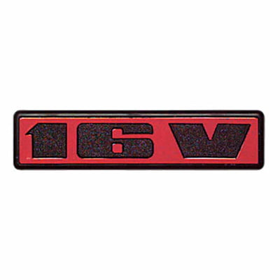 Auto-Style 16V Decal Badge