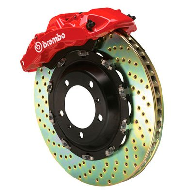 Brembo Gran Turismo Big Brake Front Kit, Uses Original Calipers, Suits SRT-10 Only