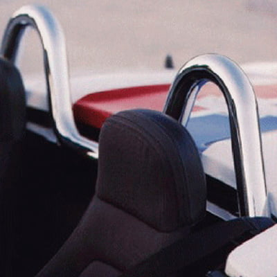 Brown & Geeson Stainless Steel Roll Hoops – Mazda MX5