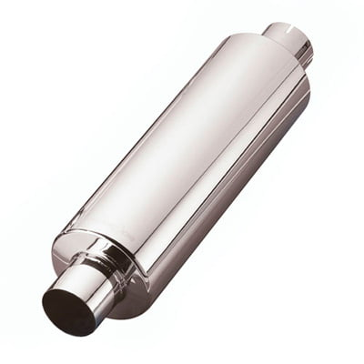 Custom Chrome Racing Stainless Steel Standard Exhaust Silencer Middle Box