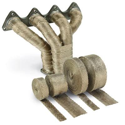 Design Engineering Titanium Exhaust Wrap