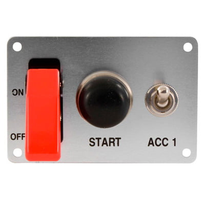 Grayston Starter Switch Panel With Accessory Switch