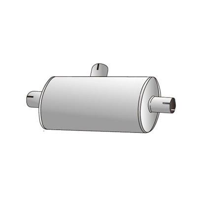 Jetex Universal Duplex Exhaust Silencer