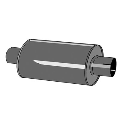 Jetex Universal Exhaust Silencer
