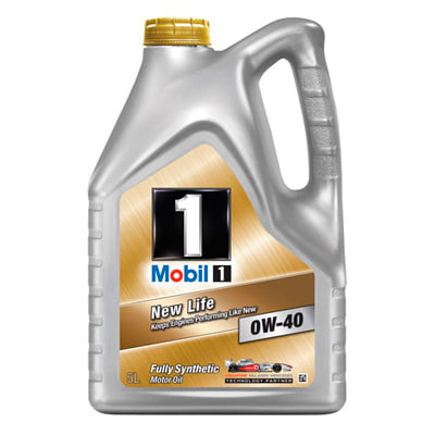 Mobil 1 New Life 0W-40 Engine Oil