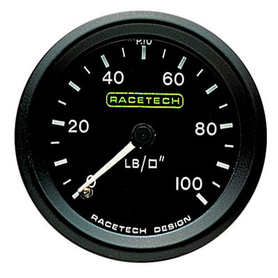 Racetech Oil Pressure Gauge – Mechanical