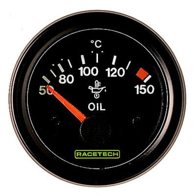Racetech Oil Temperature Gauge Electrical