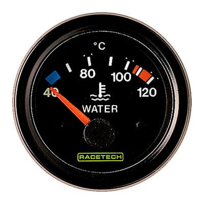 Racetech Water Temperature Gauge Electrical