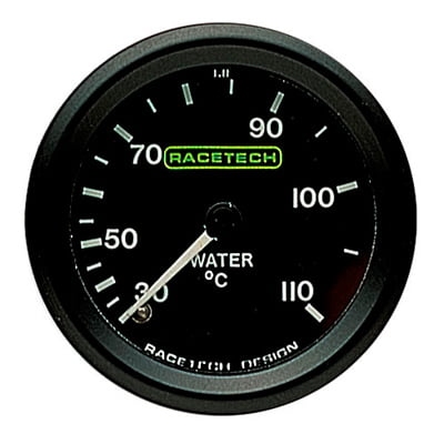 Racetech Water Temperature Gauge – Mechanical