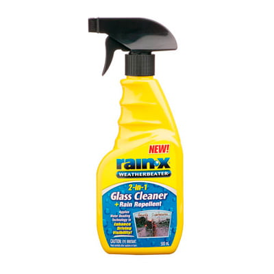 Rain-X Glass Cleaner And Rain Repellent
