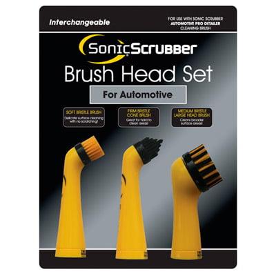 Sonic Scrubber Brush Head Set