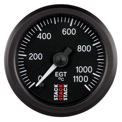 Stack Professional Exhaust Gas Temperature Gauge