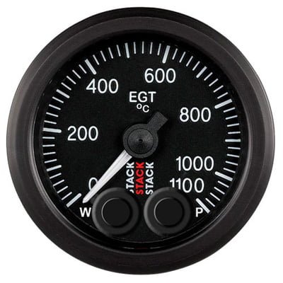 Stack Pro Control Exhaust Gas Temperature Gauge