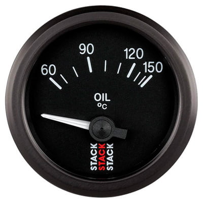 Stack Oil Temperature Gauge – Electrical