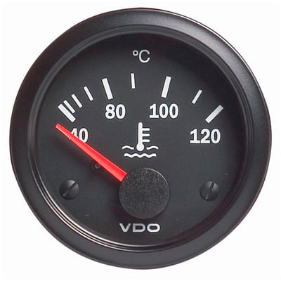VDO Vision Water Temperature Gauge Electrical