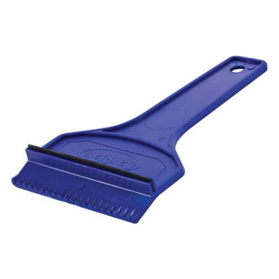 Carpoint Ice Scraper with Rubber Squeegee