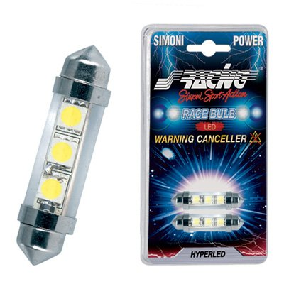 Simoni Racing Festoon Bulbs, 3 LED, CANBUS Compatible