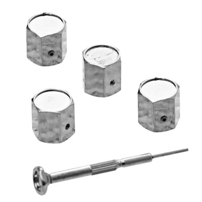 Richbrook Nickel Plated Dust Caps