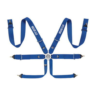 Sparco 6 Point Club Racer Harness
