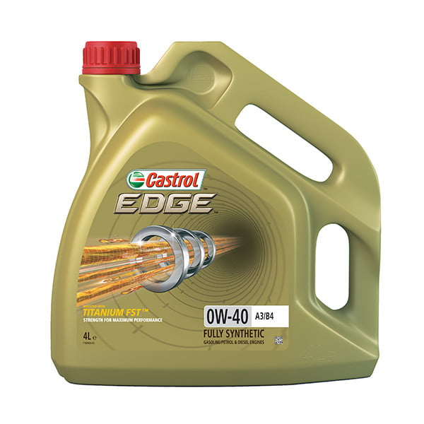 Edge 0W-40 A3/B4 With Titanium FST Fully Synthetic Engine Oil – 4Ltr