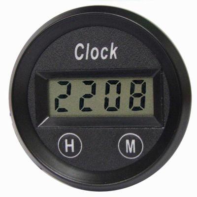 E-Tech Engineering Digital Quartz Clock – 52mm