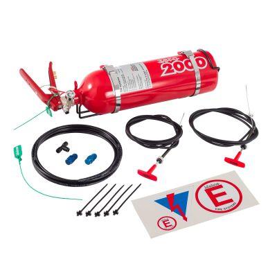 Lifeline Club Fire Marshal 2.25 Ltr Fire Extinguisher Kit