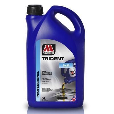 Millers Oils Millers Oils Trident 5W30 – High Performance Semi Synthetic Engine Oil