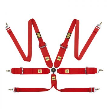 OMP 802 HANS 6 Point Harness