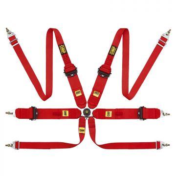 OMP 806 HANS Superleggera 6 Point Ultralite Harness