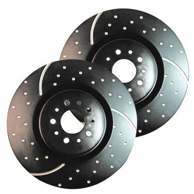 EBC Brakes Turbo Groove Performance Rear Brake Discs
