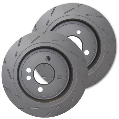 EBC Brakes Ultimax Slotted Performance Rear Brake Discs