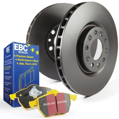 EBC Brakes Front OE Replacement Discs and Yellowstuff Pads Kit