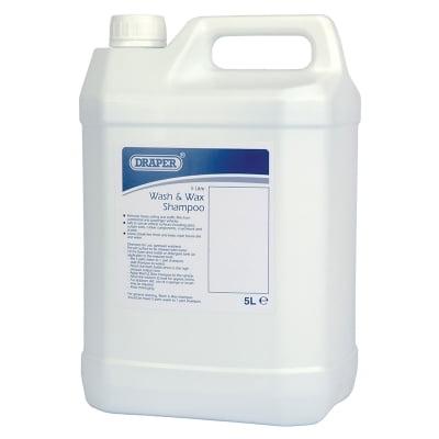 Draper 5L Wash and Wax Shampoo – PWW5A