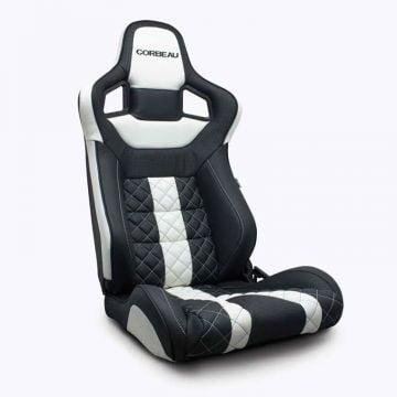 Corbeau Sportline RRS Leather Elite Reclining Sport Seat