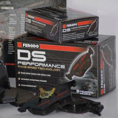 Ferodo DS Performance Brake Pads Axle Set