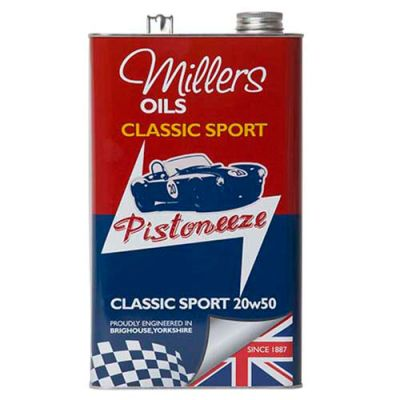 Millers Oils Classic Sport 20W50 Engine Oil