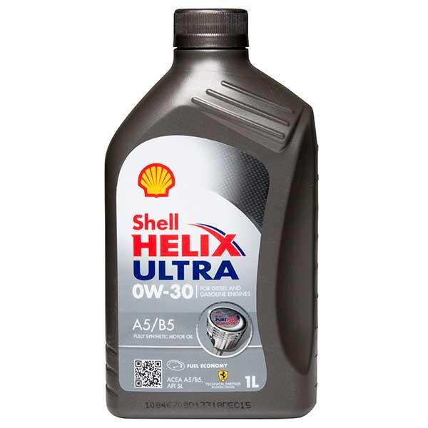 Shell Helix Ultra A5/B5 0W-30 – 1Ltr