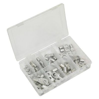 Sealey Copper Lug Terminal Assortment 52pc – AB016CT