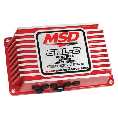 MSD Ignition 6AL-2 Programmable Ignition With Rev Limiter