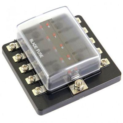 Demon Tweeks Standard Blade Fuse Box With LEDs